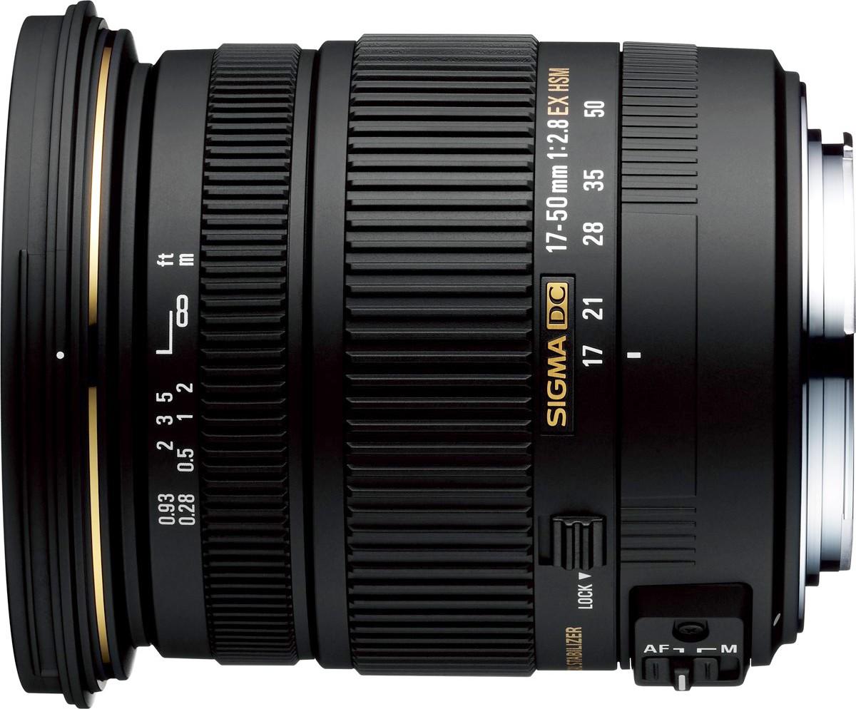 0eeebce35c0 Sigma 17-50mm f/2.8 EX DC OS HSM objektiiv Canonile - Aplats